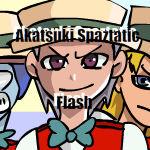 Akatsuki Spaztastic Flash