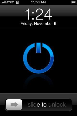 Simple_Blue_Power_For_iPhone