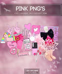 Pink png's | Pack