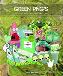 Green png's | Pack