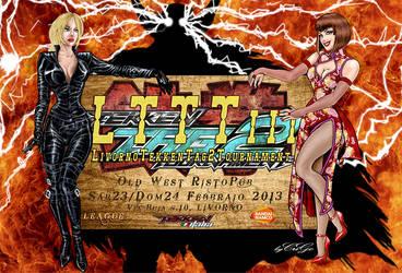 Flyer Torneo per Tek-Ita Namco - 3ad