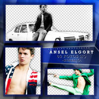 Ansel Elgort photopack PNG by ForeverTribute