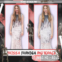 Taissa Farmiga photopack png by ForeverTribute