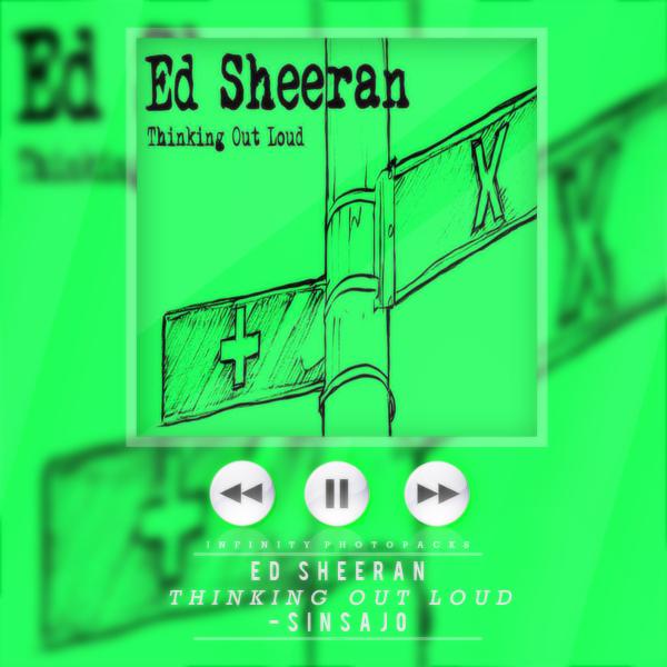 Ed sheeran thinking out loud album cover