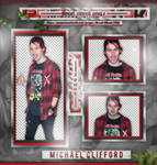 +Michael Clifford photopack png