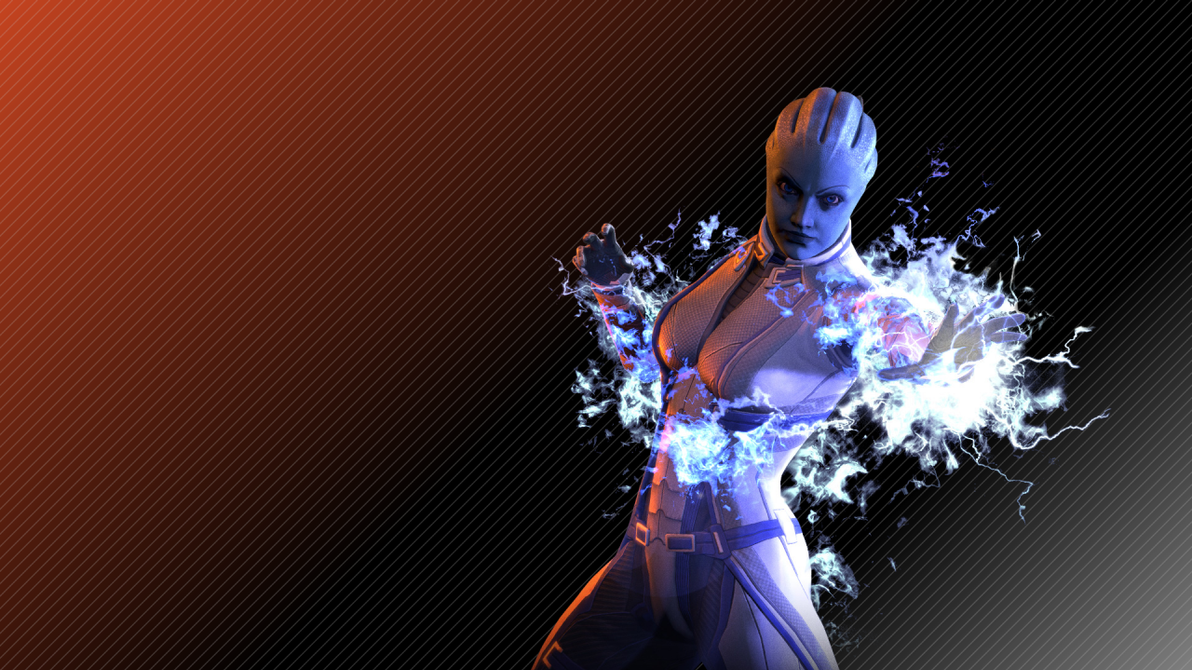 Liara Tsoni Wallpaper By Strayker On Deviantart