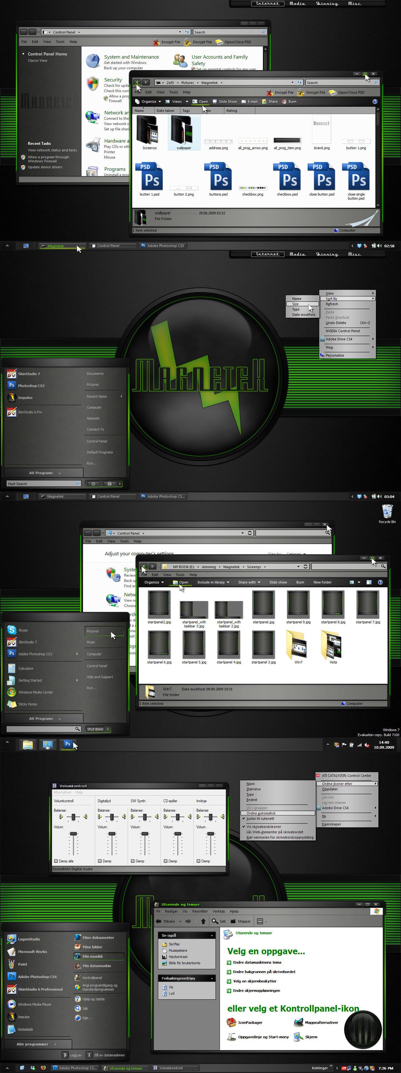 Magnetek for Xp, Vista, Win7 by 2of3