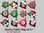 Ubuntu Arabic Flags