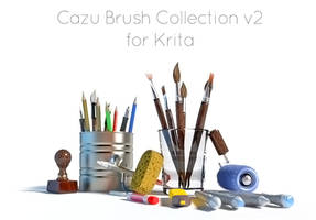 Blender Icons for Cazu Brush Krita