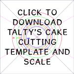 Cake Cutting Template