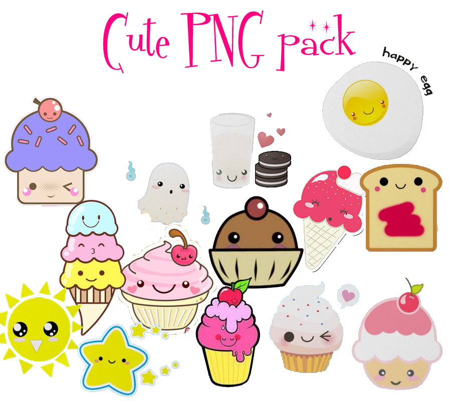 Cute PNG Pack By AnChY773 On DeviantArt
