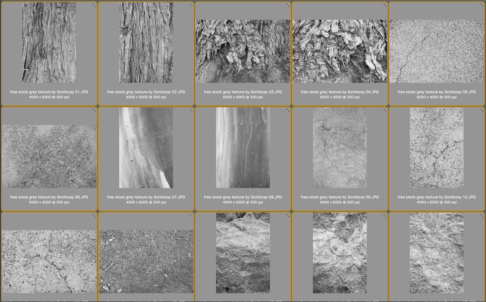 FREE 15 Grey Textures