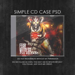 CD Case PSD