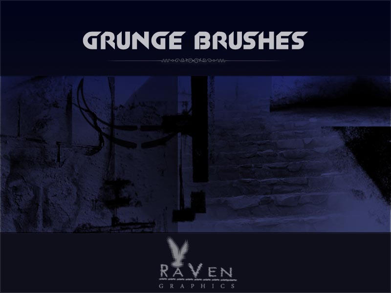 Grunge Brushes RG by RavenGraphics