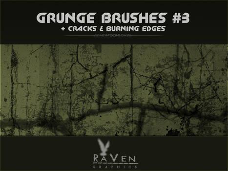 Grunge Brushes , Cracks