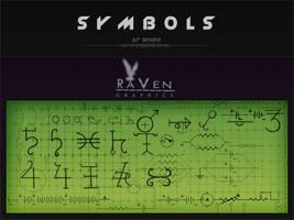 Symbols Brushes Elect n Chem by RavenGraphics