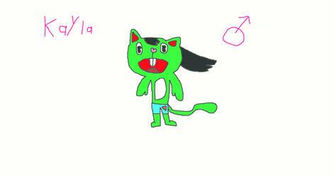 My HTF OC, Kayla! by ultraponyfan