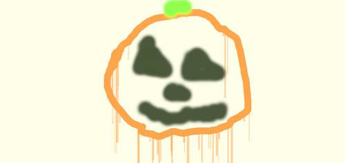 Splattered Jack O'Lantern