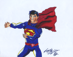 My first Superman drawing.