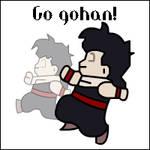 Go lil Gohan