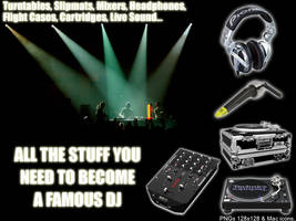 DJ Icon set by juyle