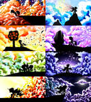 MLP Cloud Silhouettes [Full Set]