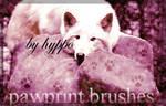 Pawprint Brushes - Paw 3