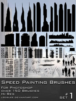 Speed Painting Brush Pack