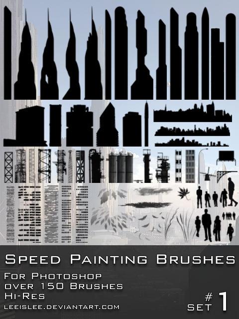 Speed Painting Brush Pack by leeislee