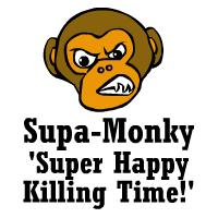 Super Happy Killing Time by Supa-Monky