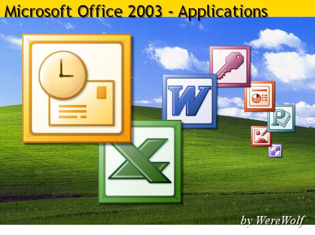 Microsotf Office 2003 by werewolfdev