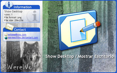 Windows XP Show Desktop