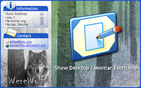 Windows XP Show Desktop