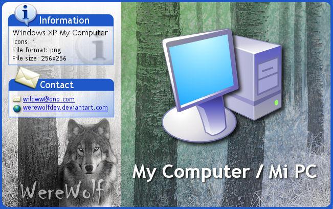 Windows XP 'My Computer' by werewolfdev
