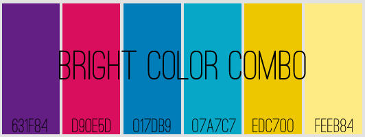 Bright Colors Swatch by Odasor