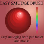 easy and fast Smudge Brush
