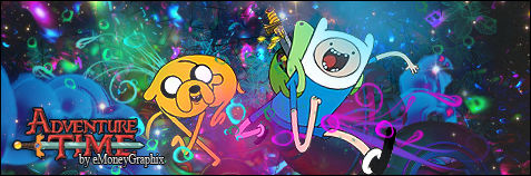Adventure Time Signature by eMoneyGraphix