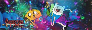 Adventure Time Signature by eMoneyGraphix