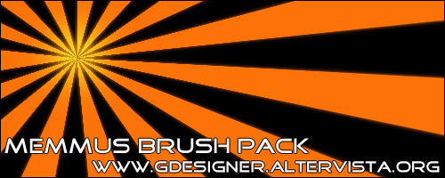 Memmus Brush Pack - Sun Ray by Memmus