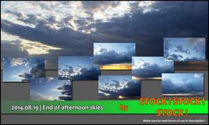 2014.08.19   End of afternoon skies