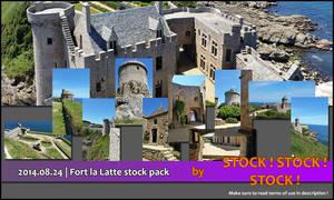 2014.06.12   Fort la Latte stock pack