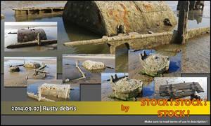 2014.09.07   Rusty debris