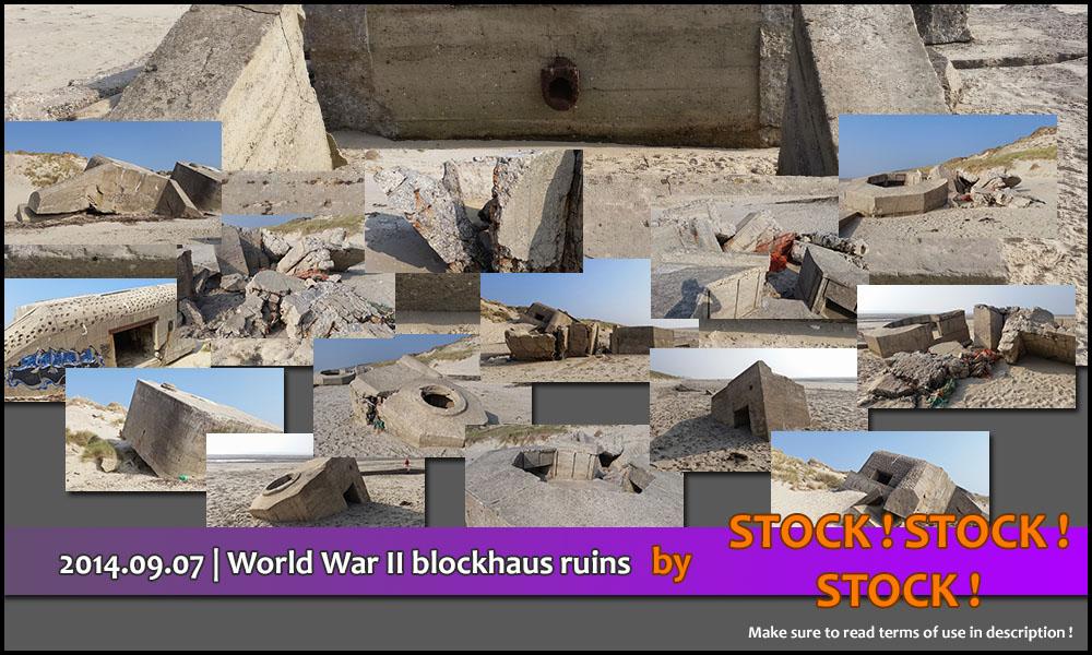2014.09.07   World War II blockhaus ruins