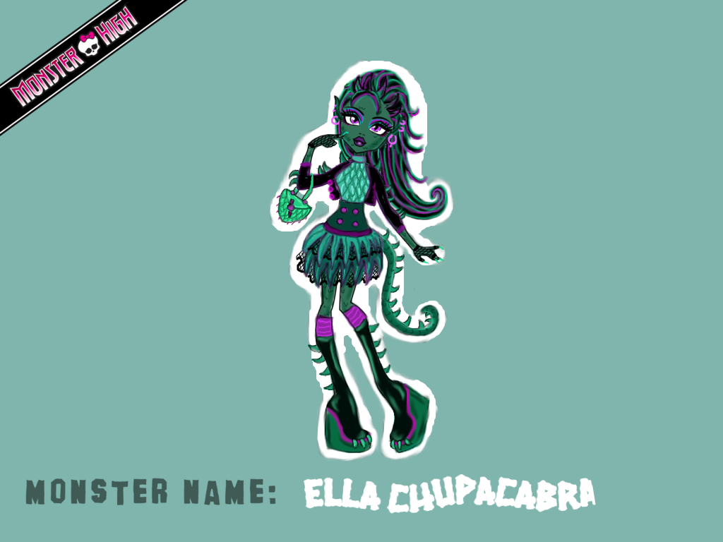 Ella Chupacabra by Watermelon-Surprise