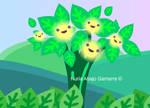 Cute Puff Flowers