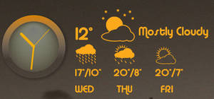 Conky_Clock_and_Meteo