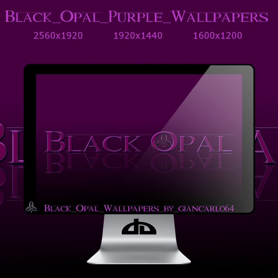 Black_Opal_Purple_Wallpaper by giancarlo64