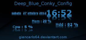 Deep Blue Conky