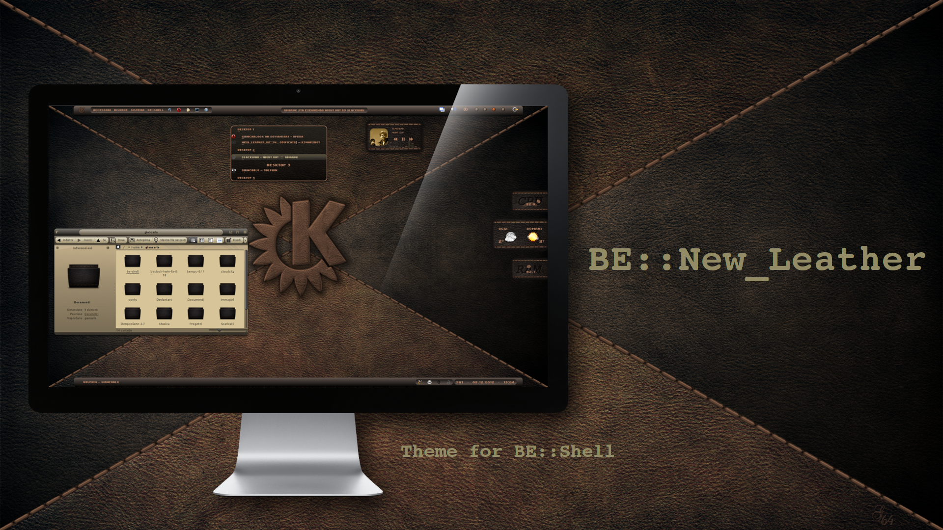 BE::New-Leather-Theme by giancarlo64