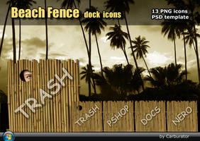 BeachFence dock icons